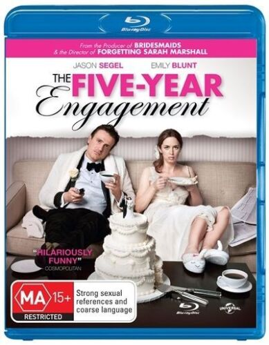 The-Five-Year-Engagement-Blu-ray-2012-NEW-REGION-B-FREE-POSTAGE