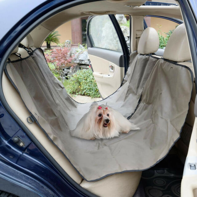 oxford heavy duty waterproof pet dog car hammock back seat cover mat coffee oxford heavy duty waterproof pet dog car hammock back seat cover      rh   ebay