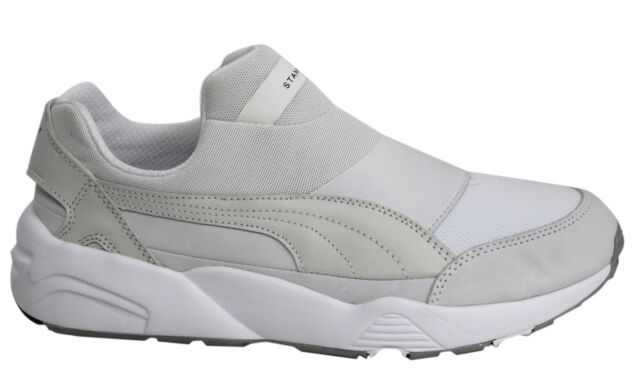 98fe9eb8ce90 Puma Trinomic Sock Stampd NM x Mens Off White Trainers Slip On Shoe 361429  03 D9