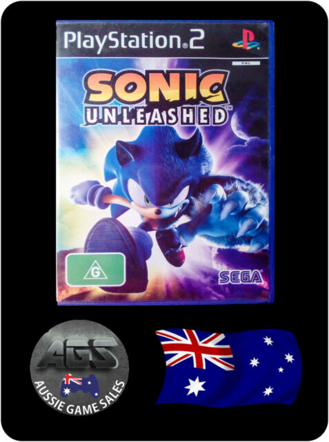Sonic Unleashed (Sony PS2 - VGC + MANUAL - FAST POST - OZ SELLER)