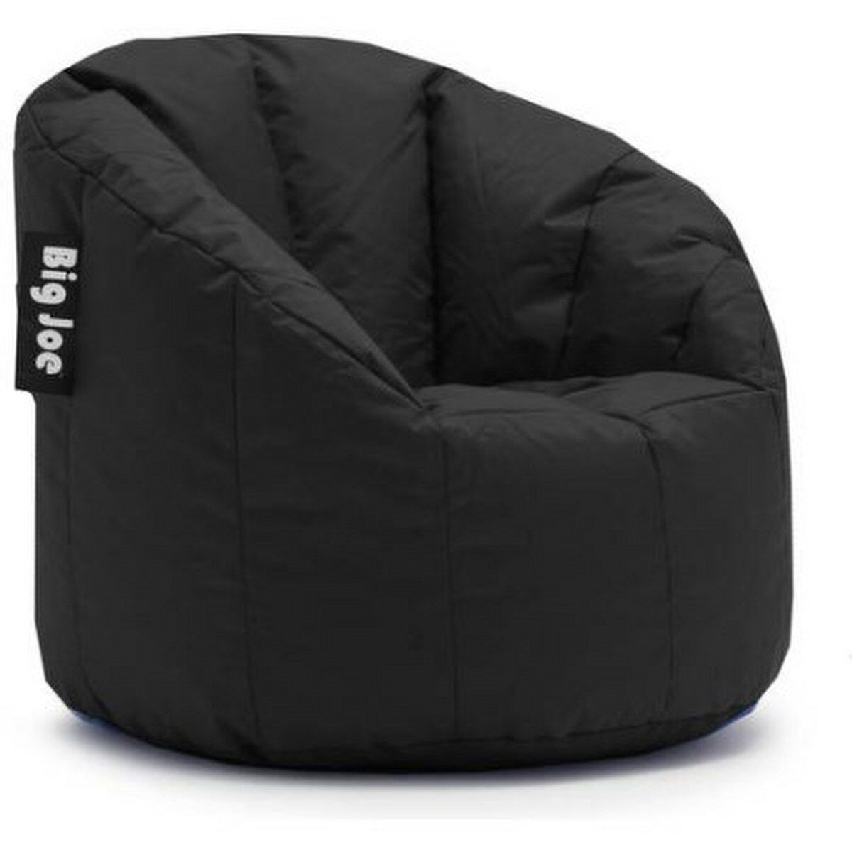 Comfort Research Big Joe MILANO Bean Bag Chair Stretch Limo Black