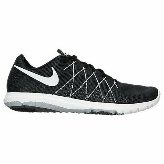 Nike Flex Fury 2 Womens 819135-001 Black Grey Running Training Shoes Size 7  | eBay