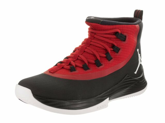 premium selection 65742 9497c Fly 2 Mens Basketball Shoe Jordan Ultra Fly 2 BlackWhite-Gym Red (897998  001) .