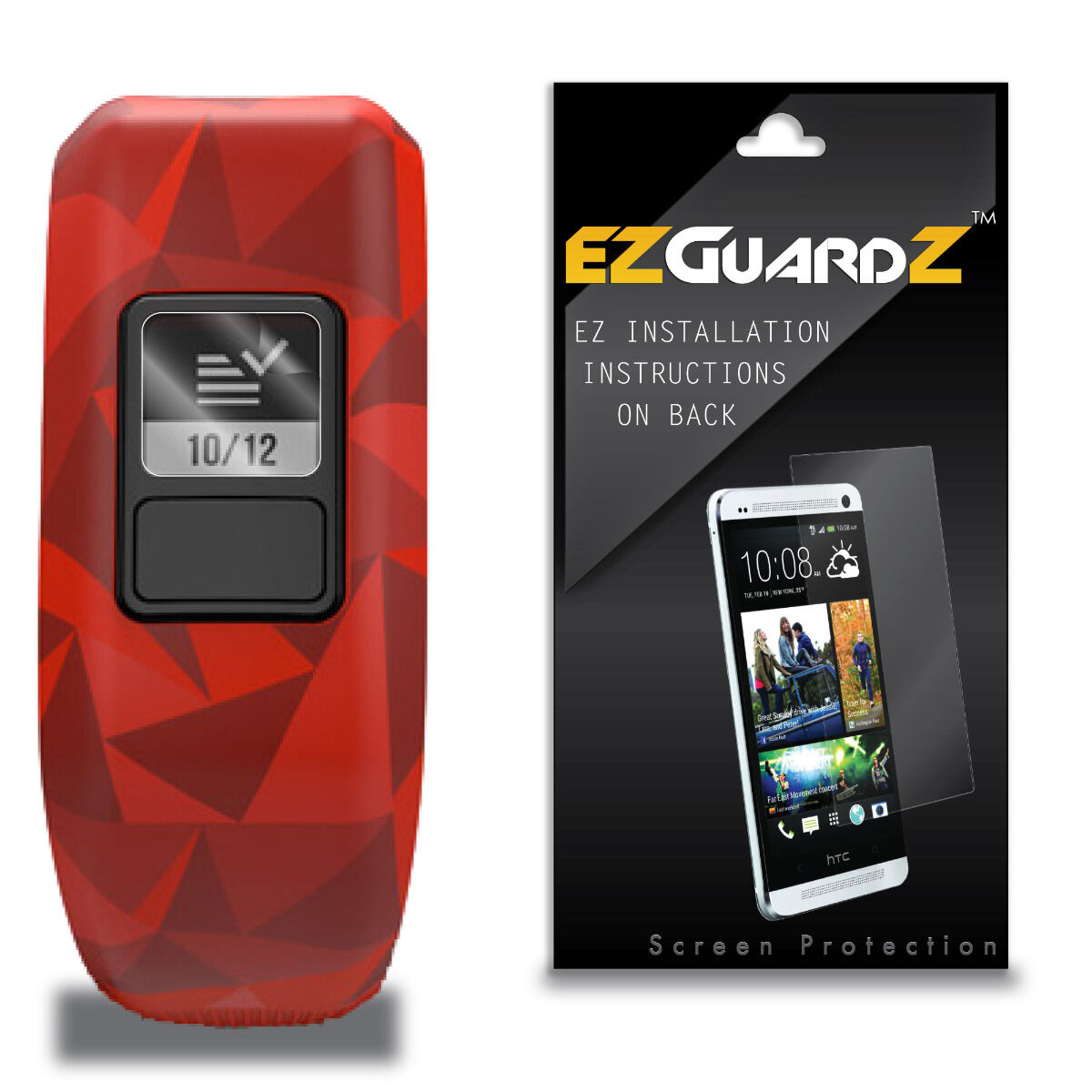 3x Ezguardz Screen Protector Shield Hd 3x For Garmin Vivofit Jr Ebay