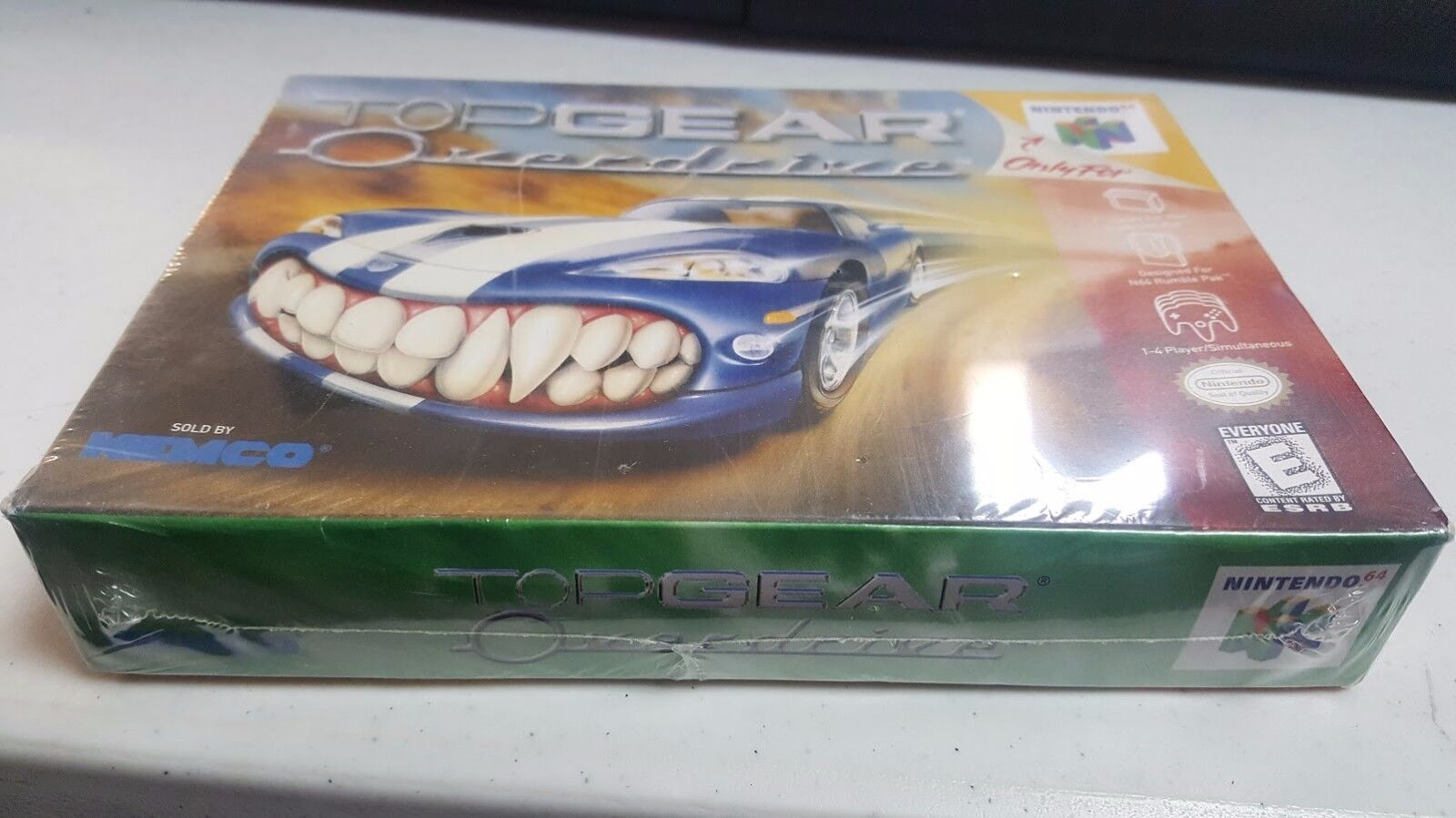 Top gear overdrive nintendo 64 1998 ebay picture 1 of 4 sciox Image collections