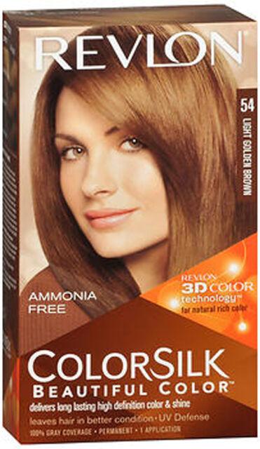 Revlon Colorsilk Hair Color With Technology Light Golden Brown 5g