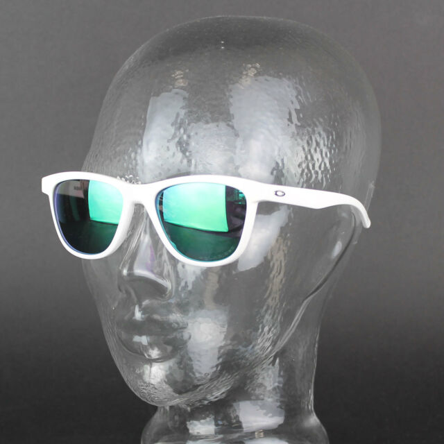 Oakley Moonlighter Blanc Brillant Jade Iridium Polarisé nbDQ47i