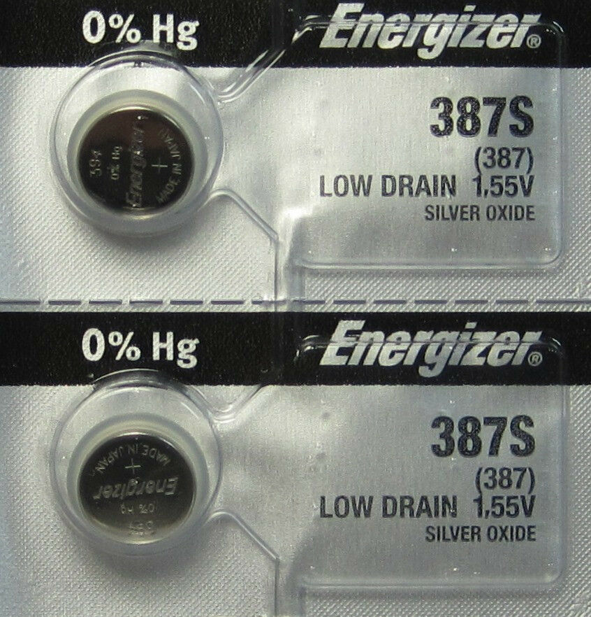 2 pk energizer 387s low drain 1 55v silver oxide button cell rh ebay com Quick Reference Guide Kindle Fire User Guide