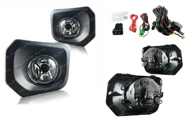 s l640 winjet* toyota tacoma clear fog light lamp replacement pair wire  at cos-gaming.co