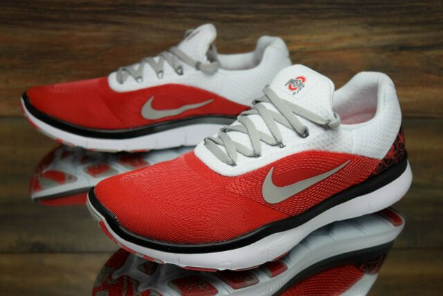 Nike Free Trainer V7 Week Zero Ohio State Buckeyes AA0881-605 NEW OSU White Red