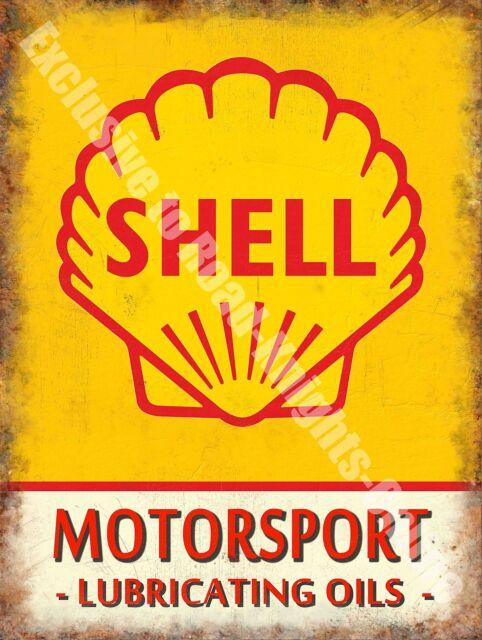 Vintage garage motor racing oil petrol old advertising for Vintage garage signs uk