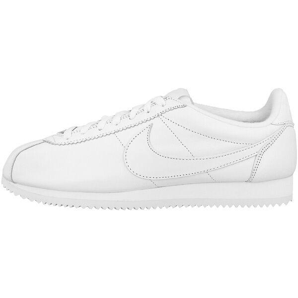 best website d9241 83fa7 Nike Classic Cortez Premium Sneaker uomo Bianco 807480100 Scarpe da  ginnastica