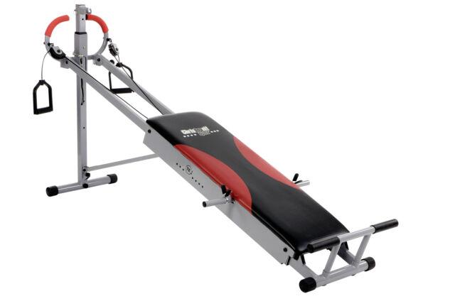 Christopeit TE 1 Total Exerciser Kompakte Trainingsbank 185x62x97 cm bis 120 kg