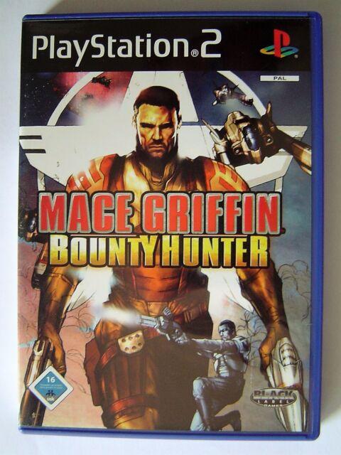 Mace Griffin Bounty Hunter- PS2 - Deutsch - Handbuch sehr gut / DVD wie neu