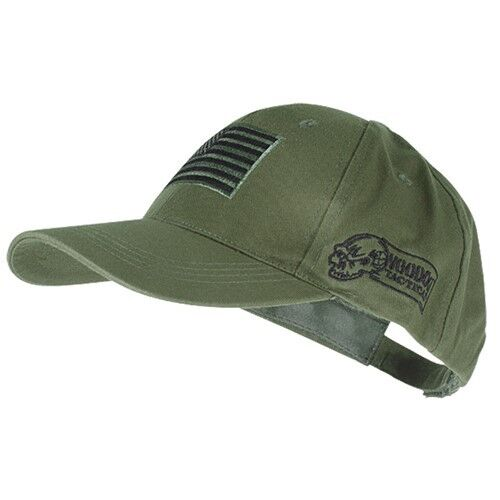 bb0db58ddc1 ... canada voodoo tactical hunting cap with us flag fully adjustable od  green 20 9353 92915 3c006