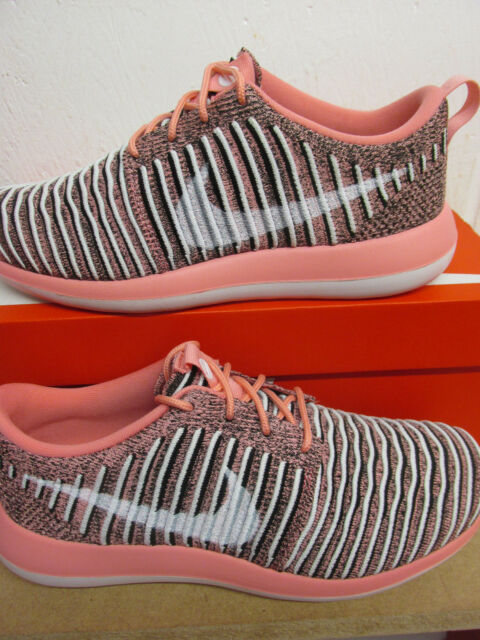 reputable site cfb0c b2729 Nike Womens Roshe Two Flyknit Running Trainers 844929 801 Sneakers Shoes