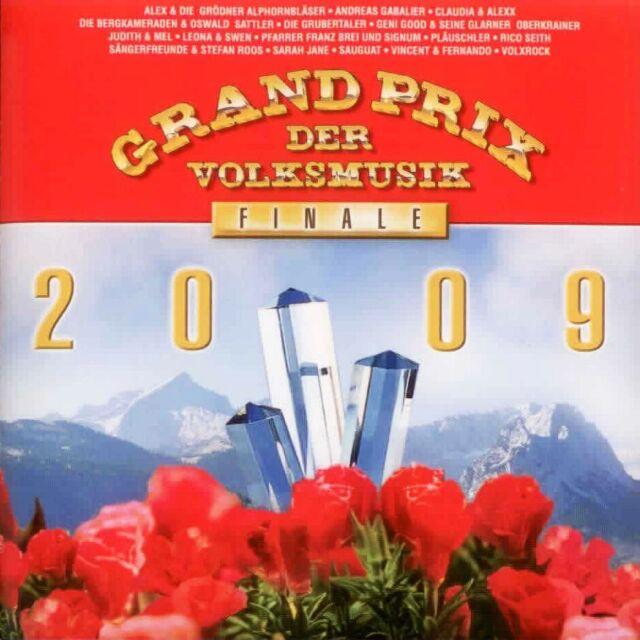 Grand Prix der Volksmusik: Finale 2009 - CD  volkstümliche Schlager, Compilation