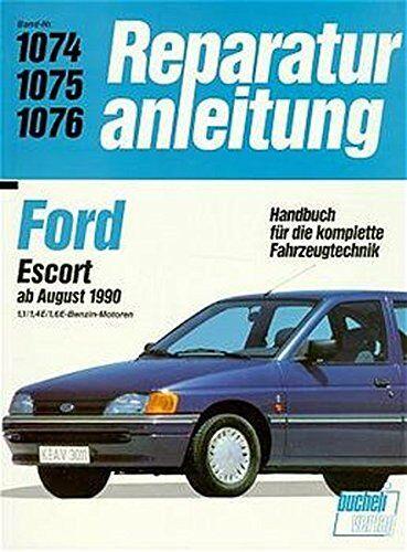 Ford Escort ab August 1990 Reparaturanleitung Reparatur-Handbuch Reparaturbuch