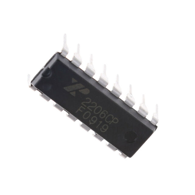 Exar Xr2206 Monolithic Function Generator IC 16 Pin DIP Xr2206cp | eBay