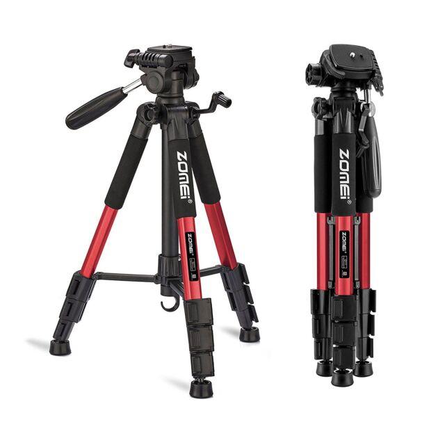 Zomei Q111 RED Professional Aluminum Tripod Panhead for Canon Nikon DSLR Camera