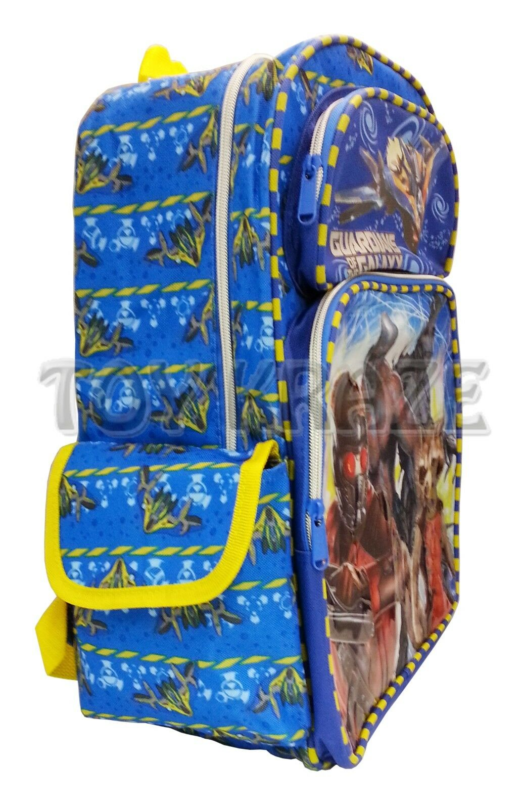 Guardians of The Galaxy Backpack Blue Colorful School Book Bag ...