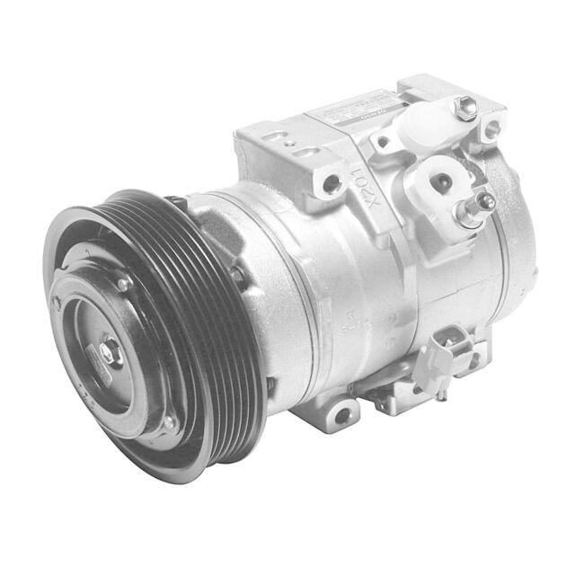 A/C Compressor and Clutch-New Compressor DENSO fits 03-07 Honda Accord 2.4L-L4