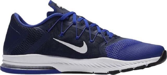 Da Uomo Nike Zoom treno completo binari Scarpe Da Ginnastica Blu 882119 401