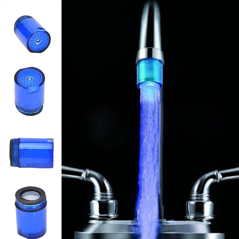 Fantsatic LED Light Water Faucet 7 Colors Changing Glow Shower ...
