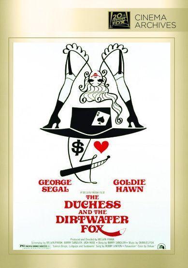 Duchess & the Dirtwater Fox - Region Free DVD - Sealed