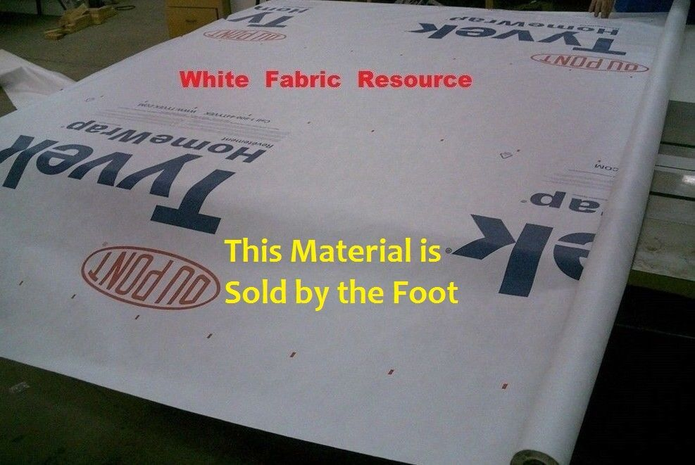 Picture 1 of 5 ... & 9 Dupont Tyvek Homewrap Ultralight Hiking Ground Sheet Tent ...