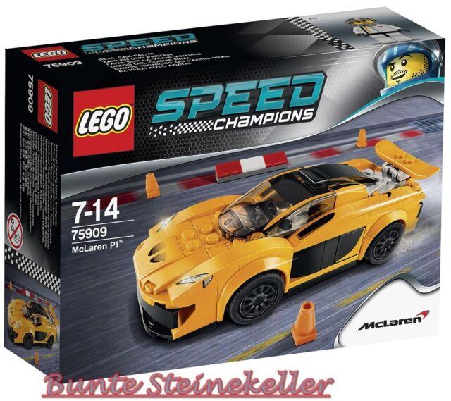 LEGO® Speed Champions: 75909 McLaren P1™ & 0.-€ Versand & OVP & NEU !