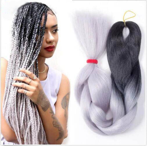 Ombre xpression jumbo kanekalon synthetic braiding hair extensions picture 1 of 7 pmusecretfo Choice Image