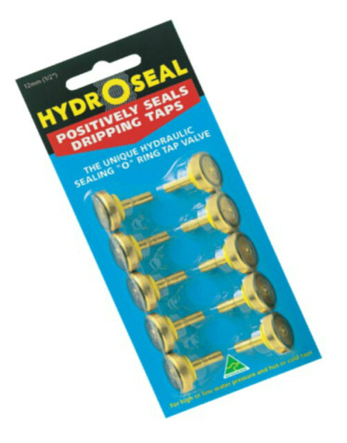 HydroSeal Tap Washer Jumper Valves With O-ring Pk10 12mm