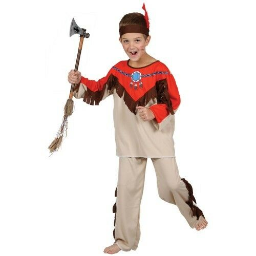 sc 1 st  eBay & Native Indian - Kids Costume 5 - 7 Years Wicked Costumes | eBay