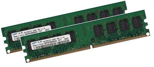 2x 1GB = 2GB SAMSUNG RAM für Dell Desktop/Workstation Vostro 410 DDR2 800 Mhz
