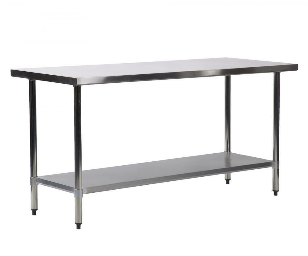 72 X 24 Inches Stainless Steel Work Table Commercial Kitchen ...