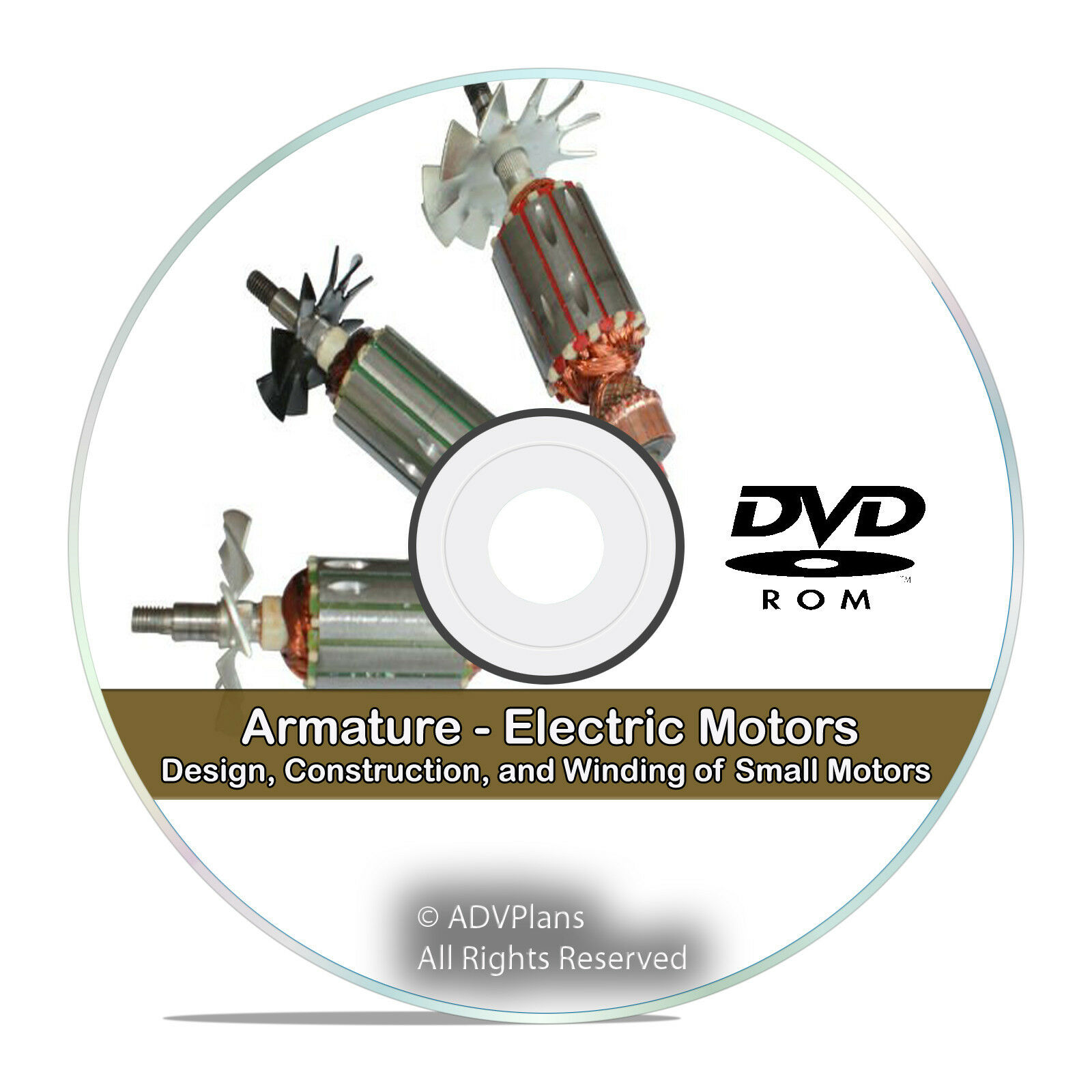 Armature Electric Motors Design Construction WINDING Library Guide ...