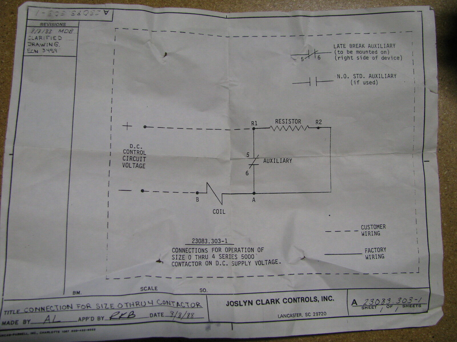 Surprising Joslyn Clark Wiring Diagrams Basic Electronics Wiring Diagram Wiring Cloud Oideiuggs Outletorg