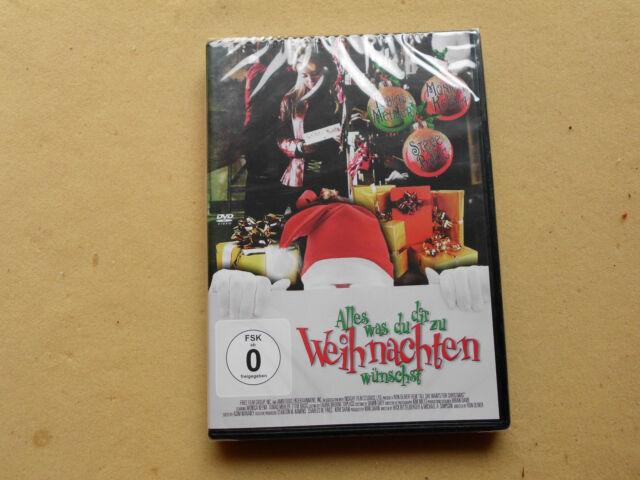 Alles was du Dir zu Weinachten wünscht Christmas Weihnachts Film  DVD Neu OVP