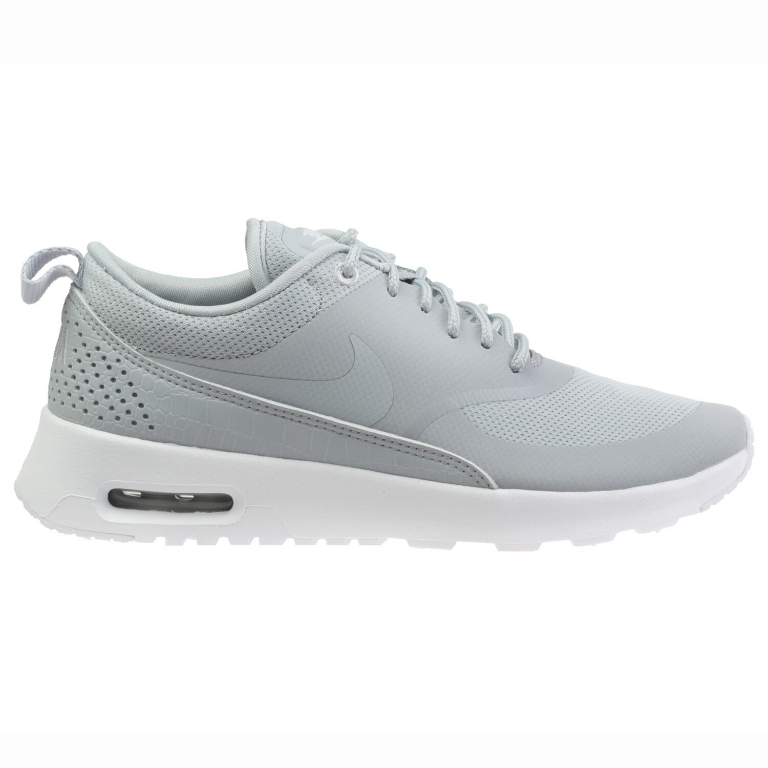Nike Air Max Thea Womens 599409-023 Wolf Grey Textile Running Shoes Size 6