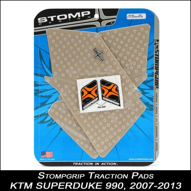 STOMPGRIP Traction Pads, KTM SUPERDUKE 990, 2007-2013, klar, Tankpad, 55-10-0059