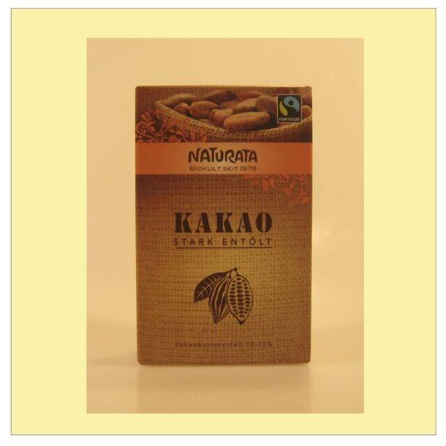 (1,83/100g) 2x Naturata Kakao stark entölt bio 125 g