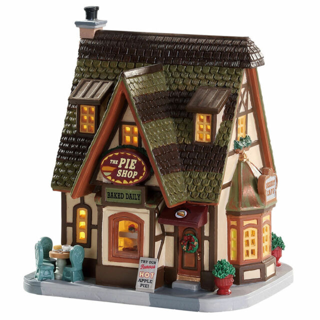 lemax christmas village pie village house signature collection nib