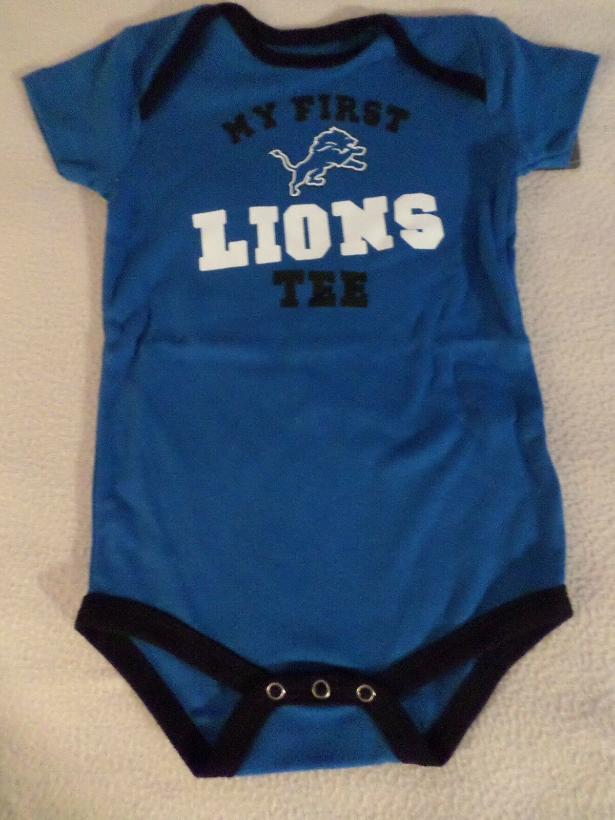 Infant 24m 24 Months 3 pack NFL San Francisco 49ers Bodysuits Romper