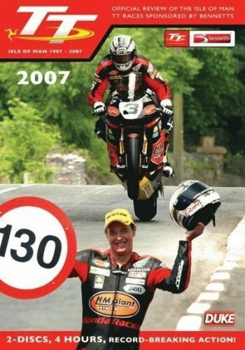 2007 Isle of Man TT: Official Review DVD Brand New All Regions Plus FREE POSTAGE