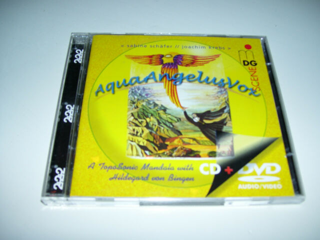AquaAngelusVox A topo sonic mandala Bingen  Schafer and Krebs * CD + DVD SET NEW