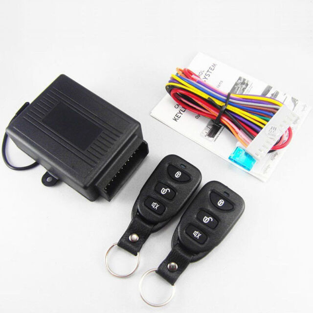 Universal Car Remote Control Central Door Lock Locking Keyless Entry
