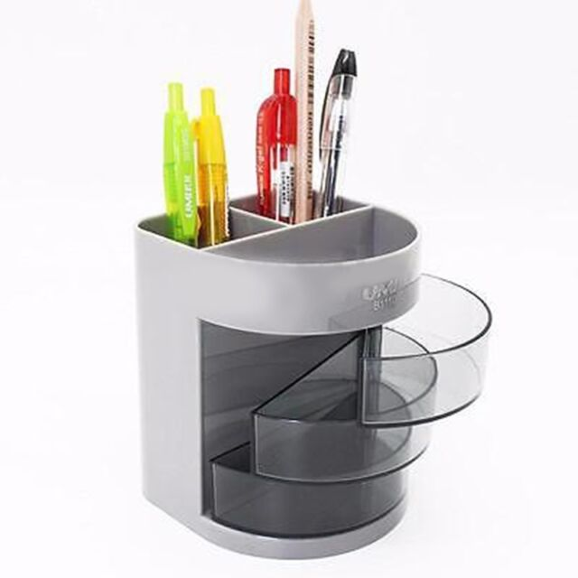 Multifunction Cute Pencil Pen Holder Office Desk Stationery Container  Organizer