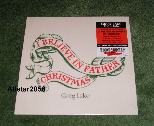 2017greg lakei believe in father christmas10 white vinyl - Greg Lake I Believe In Father Christmas