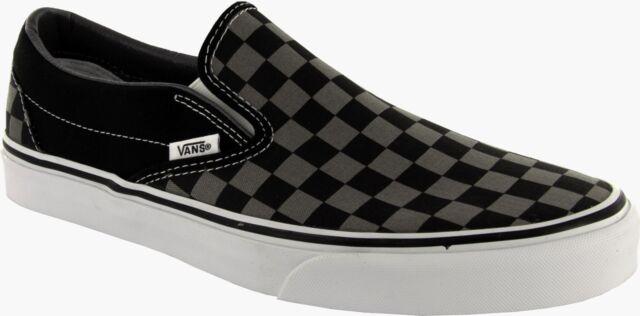 Nero 46 EU Vans U Classic Slipon Sneaker Unisex Adulto Black/Pewter 6de